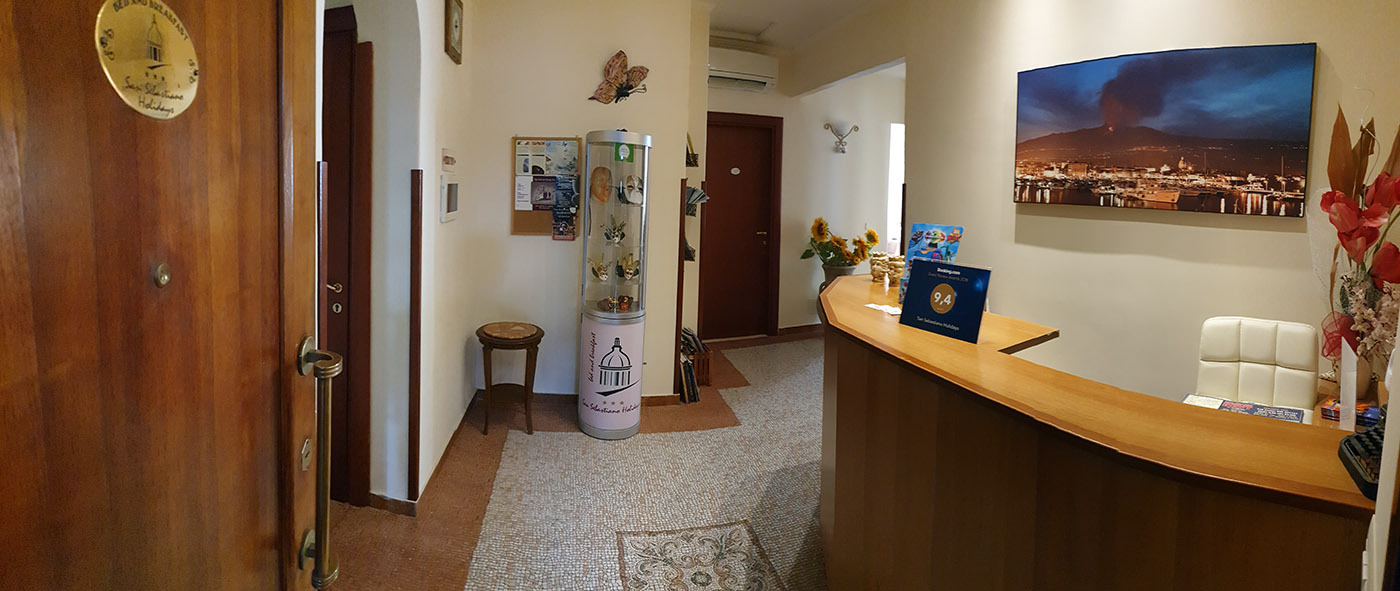 Reception B&B San Sebastiano Holidays